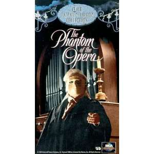 Phantom of the Opera [VHS] Herbert Lom, Heather