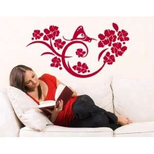 Butterfly Dreaming   Vinyl Wall Decal