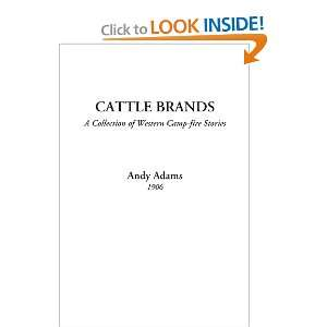 of Western Camp fire Stories) (9781414229973): Andy Adams: Books