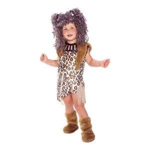 Cavegirl Child Costume   Small (4/6) Toys & Games