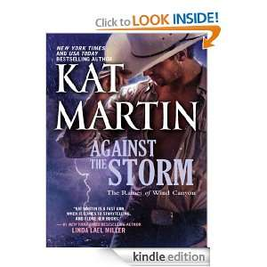 Against the Storm (The Raines of Wind Canyon) Kat Martin