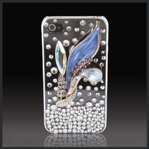 Collection Luxury glass diamond case cover for Apple iPhone 4 4G