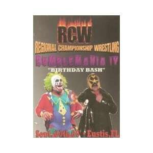 RCW Rumblemania 4 DVD Everything Else