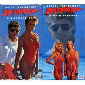 VHS Video Set   Nightmare Bay and River of No Return