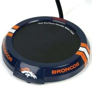 Denver Broncos Candle Warmer Plate   NFL Football  Sports