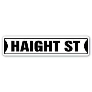 HAIGHT Street Sign san francisco ashbury road SF gift