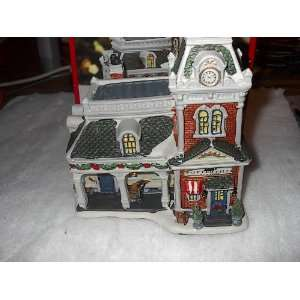 Pottersville Station   Holiday Time Village Kitchen