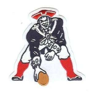 New England Patriots `Pat the Patriot Team Patch   Official NFL
