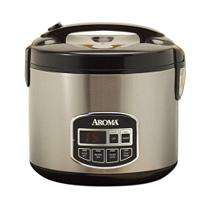 Aroma 10 Cup Digital Rice Cooker & Food Steamer   Sams Club