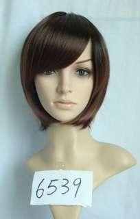 Short brown BOB Kanekalon custumes hair wig WA30