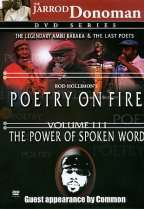 Poetry on Fire   Volume 3: The Power of Spoken Word DVD Cover Art