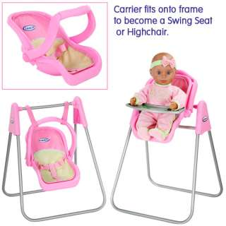 Graco Baby Doll Playset  Soft Toys and Dolls  The Toy Shop