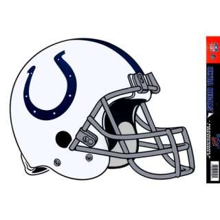 Colts Helmet XL Decal Removable Vinyl Sticker NFL Indianapolis Colts