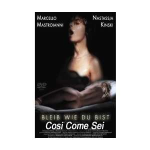Cosi Come Sei (Stay As You Are) Dvd Nastassja Kinski