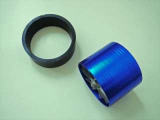 Universal Turbo Air Intake Fuel Saver Blue Fan Set New