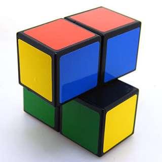 Rare Custom Made White 1X2X2 Rubiks Magic Cube Twist Puzzle Toy