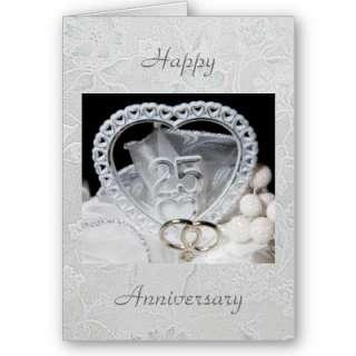 25to Tarjeta de la invitación de la celebración del aniversario por