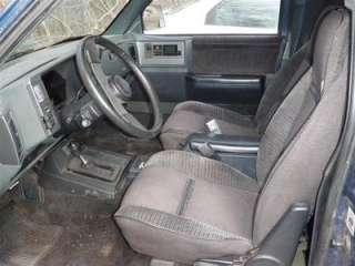 1989 CHEVROLET BLAZER S10/JIMMY S15 RH Front Seat