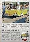 1958 58 Chevy Impala Convertible ORIGINAL Vintage Ad C MY STORE 5