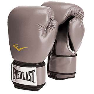 Everlast Pro Style Boxing Gloves, Grey: Exercise & Fitness