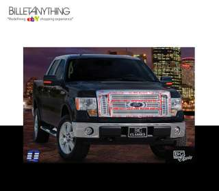 FORD F150 LARIAT KING RANCH CHROME BILLET GRILLE GRILL