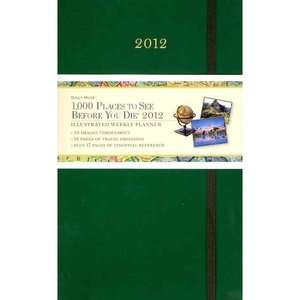 to See Before You Die Weekly Planner, Workman Publishing Calendars