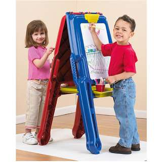 American Plastic Toys Art Easel: Pretend Play, Arts & Crafts