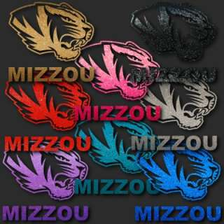 Missouri Tigers Mizzou 8 Auto Window Stickers Decals