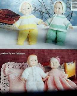 Crochet Twin Baby Doll Clothes For 15 Craft Doll