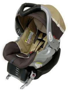 baby trend grey mist infant car seat w car seat flex loc base cs31052. Black Bedroom Furniture Sets. Home Design Ideas