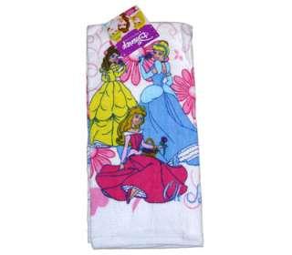 Princess Cinderella Belle Aurora Kitchen Bath Hand Dish Tea Towel NEW