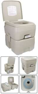 GAL Portable Camp Toilet Camping Flush Potty