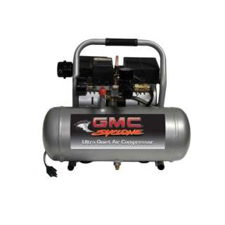 GMC Syclone 1675A Ultra Quiet & Oil Free Air Compressor Tools