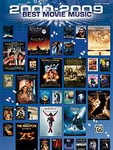 2009 BEST MOVIE MUSIC PIANO VOCAL GUITAR SHEET MUSIC SONG BOOK