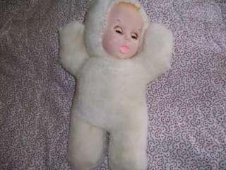 Atlanta Novelty Gerber White Plush Musical Baby Doll RARE Collectible