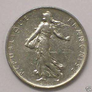 World Coins France 1 Franc 1960 Coin Great Collectors