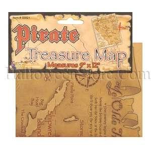 Pirate Treasure Map Prop Pirate Costume Accessory