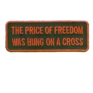 Of Freedom Hung Christian Embroidered Biker Patch: Everything Else