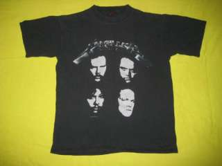 VINTAGE METALLICA 1991 HISTORIC DATES CONCERT T SHIRT TOUR CONCERT