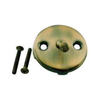 Westbrass Round Trip Lever Faceplate with Screw