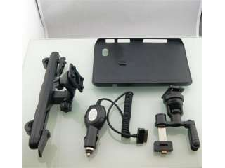 Headrest, air vent Car holder & Charger for Galaxy Tab