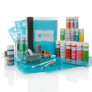 Crafts™ Beginner s Paint and Stencil Kit Arts, Crafts & Sewing