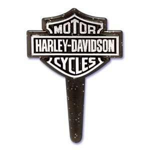 Crispie Sweets Cupcake Topper KIT   Harley Davidson Logo   w/ Dusting