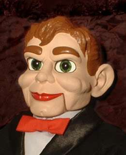 HAUNTED Slappy Ventriloquist doll EYES FOLLOW YOU
