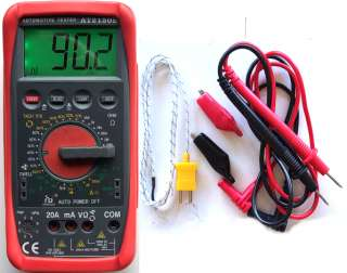 Didital Tachomete meter TACH DWELL Tester Multimeter
