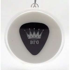 ZZ Top Billy Gibbons BFG Guitar Pick With MADE IN USA Christmas Tree