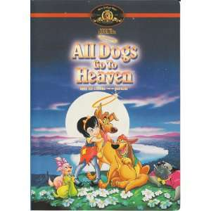 All Dogs Go to Heaven LONI ANDERSON, DON BLUTH, WALKER Movies & TV