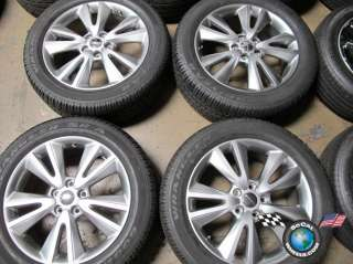 Four 2011 Dodge Durango Factory 20 Wheels Tires Rims OEM Jeep Grand