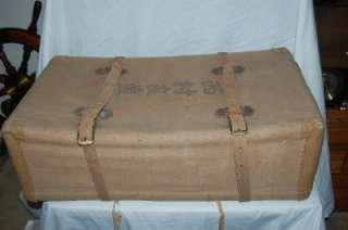 WWII Japanese Army Soldiers Military Foot Locker