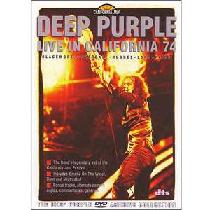 Purple Live In California 74   The DVD Archive Collection Movies